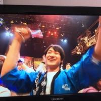 キスマイ宮田、CDTVでアニメ声優ユニットAqoursのライブで最前列でニコニコでトレンド入り